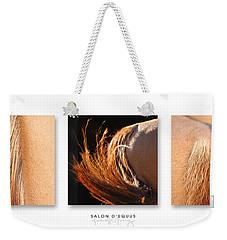 Salon D'equus Dark Weekender Tote Bag by Michelle Twohig