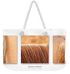 Salon D'equus Light Weekender Tote Bag by Michelle Twohig