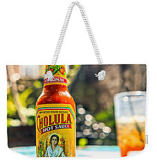 Salsa Caliente Weekender Tote Bag by Sennie Pierson
