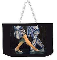 Salsa Stepping Weekender Tote Bag