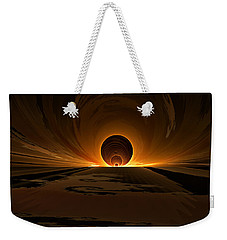 Salsa Sunrise Weekender Tote Bag by GJ Blackman