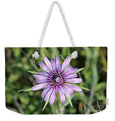 Salsify Flower Weekender Tote Bag by George Atsametakis