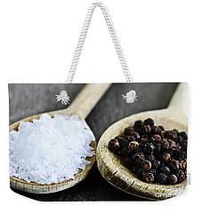 Salt And Pepper Weekender Tote Bag