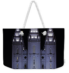 Salt Lake Christmas Weekender Tote Bag