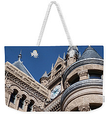 Weekender Tote Bag featuring the photograph Salt Lake City - City Hall - 1 by Ely Arsha