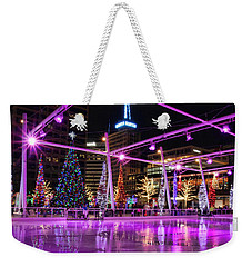 Weekender Tote Bag featuring the photograph Salt Lake City - Skating Rink - 2 by Ely Arsha