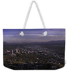 Salt Lake Valley Weekender Tote Bag