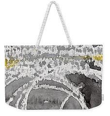 Saltwater- Abstract Painting Weekender Tote Bag