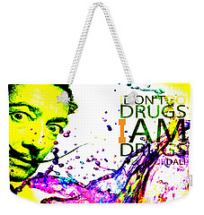 Salvador Dali Pop Art Weekender Tote Bag by Eti Reid