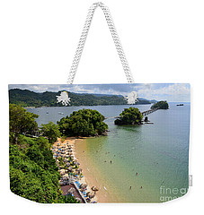 Samana In Dominican Republic Weekender Tote Bag by Jola Martysz