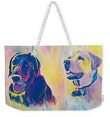 Sammy And Toby Weekender Tote Bag