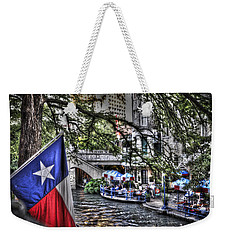 San Antonio Flag Weekender Tote Bag