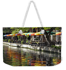 San Antonio River Walk Weekender Tote Bag
