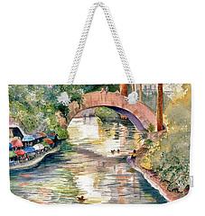 San Antonio Riverwalk Weekender Tote Bag