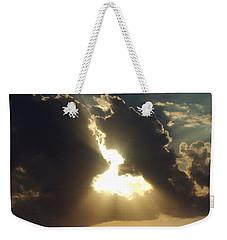 Weekender Tote Bag featuring the photograph San Antonio Sunset by Peter Piatt