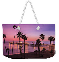 San Clemente Sunset Meditation Weekender Tote Bag