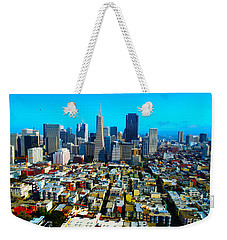 San Fran Colors Weekender Tote Bag