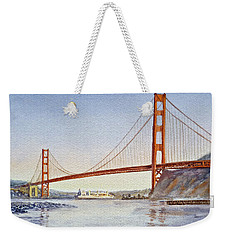 San Francisco California Golden Gate Bridge Weekender Tote Bag