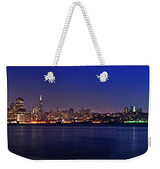 San Francisco Dusk Panorama Weekender Tote Bag