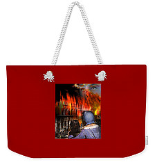 San Francisco Fire Weekender Tote Bag