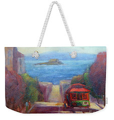 San Francisco Hills Weekender Tote Bag