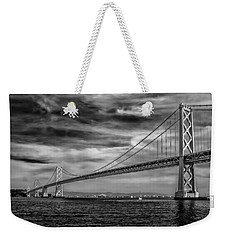 San Francisco - Oakland Bay Bridge Weekender Tote Bag