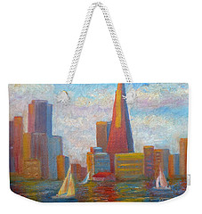 San Francisco Reflections Weekender Tote Bag