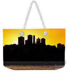 San Francisco Silhouette Weekender Tote Bag