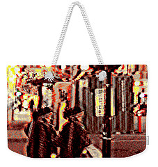 San Francisco Twins Weekender Tote Bag