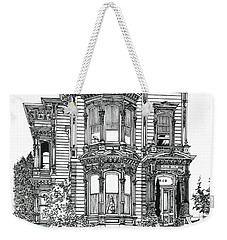 San Francisco Victorian   Weekender Tote Bag