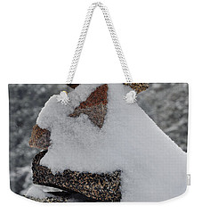 Weekender Tote Bag featuring the photograph San Jacinto Balanced Rocks by Kyle Hanson