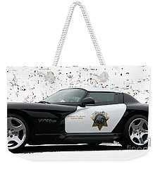 San Luis Obispo County Sheriff Viper Patrol Car Weekender Tote Bag