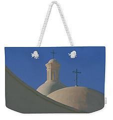 Weekender Tote Bag featuring the photograph San Xavier Del Bac by Susan Rovira