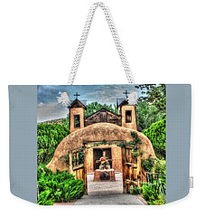 Santuario De Chimayo Weekender Tote Bag by Lanita Williams