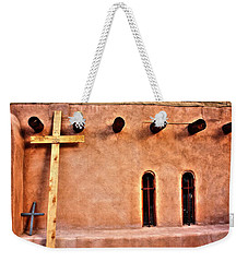 Santuario Four Crosses Weekender Tote Bag by Lanita Williams