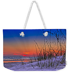 Sand And Sea Weekender Tote Bag by Marvin Spates