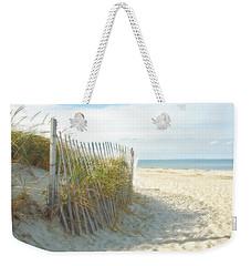 Sand Beach Ocean And Dunes Weekender Tote Bag by Brooke T Ryan