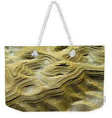 Sand Drift Weekender Tote Bag by Jocelyn Kahawai