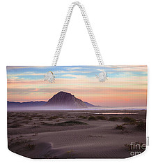 Sand Dunes At Sunset At Morro Bay Beach Shoreline  Weekender Tote Bag by Jerry Cowart