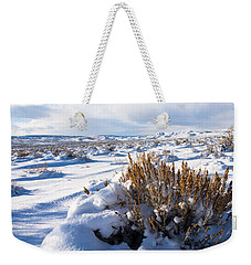 Sand Wash Basin In The Winter Weekender Tote Bag