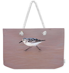 Sanderling On The Run Weekender Tote Bag