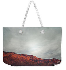 Sandia Watermelon Mountain Weekender Tote Bag by Andrea Hazel Ihlefeld