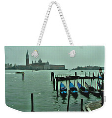 Weekender Tote Bag featuring the photograph Sanding By by Brian Reaves