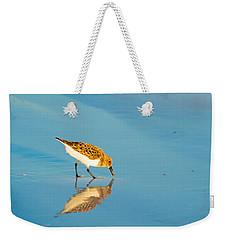 Sandpiper Mirror Weekender Tote Bag