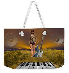 Sands Of Music Weekender Tote Bag