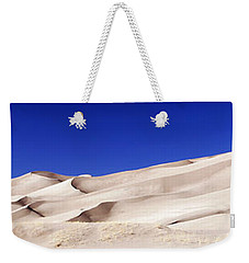 Weekender Tote Bag featuring the photograph Sands Of Time by Marilyn Hunt