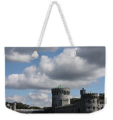 Weekender Tote Bag featuring the photograph Sands Point Castle by John Telfer