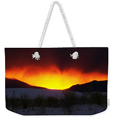 Sands Sunset  Weekender Tote Bag by Jessica Shelton