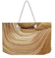 Sandstone Lines Weekender Tote Bag