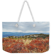 Sandstone Peak Fall Landscape Weekender Tote Bag